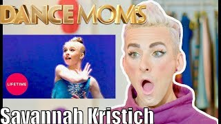 Dance Coach Reacts to Savannah Kristich 'It's Not My Fault' - UNAIRED Solo!
