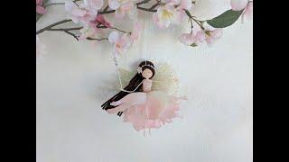 Flower Fairy Doll: Pink Alice Rose Fairy