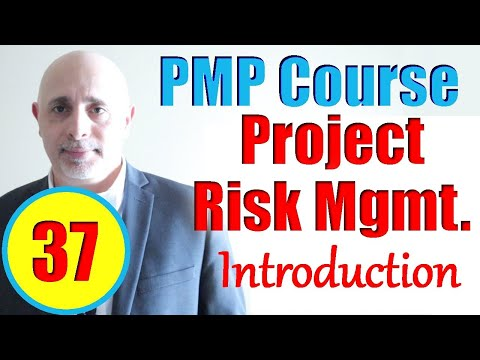 Project Risk Management Introduction | Full PMP Exam Prep ...