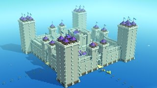 CASTLE ON THE SEA - Kingdoms and Castles