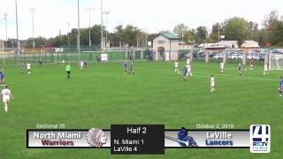 Girls Soccer Sectional North Miami Vs LaVille