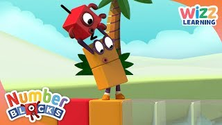 Numberblocks - One and Two use Terrific Teamwork | Learn to Count | Wizz Learning