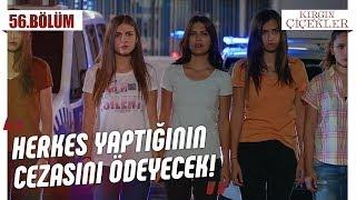 Kızların adaletinden kaçamayan Defne! - Kırgın Çiçekler 56.Bölüm