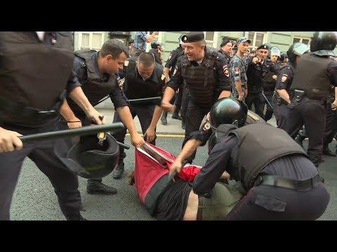 Митинги и задержания: как в России протестовали против пенсионной реформы