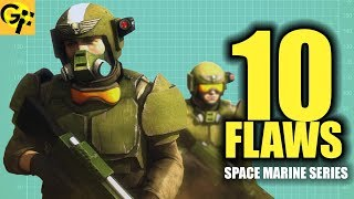 10 Flaws with the Imperial Guard WARHAMMER 40K   BEST SPACE MARINE SERIES
