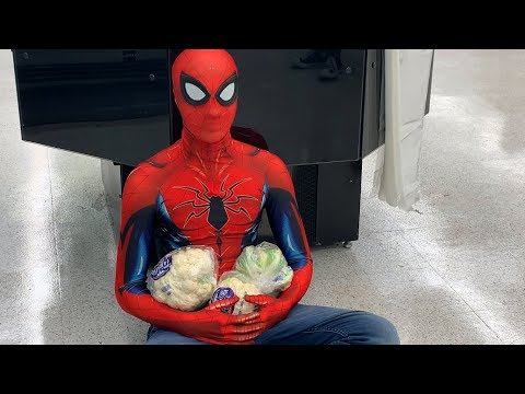CAULIFLOWER: SUNFLOWER by POST MALONE and SWAE LEE PARODY (Spiderman: Into the Spiderverse)