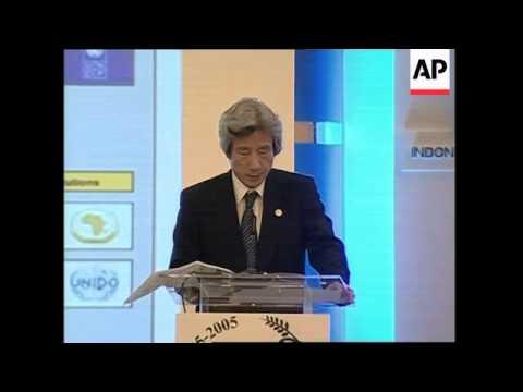 Koizumi on Japan-Asia relations, reax