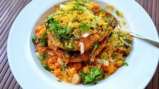 how to make ragda patties street food - TH-Clip