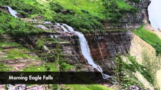 Trip video from Siyeh Bend to Many Glacier along Grinnell Lake and Lake Josephine.