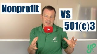 What's the Difference Between a Nonprofit and a 501(c)3?   Q&A #1   Specialist Nicole
