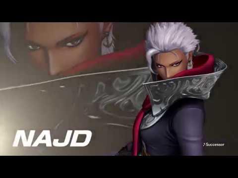 Najd entre dans l'arène ! de The King of Fighters XIV