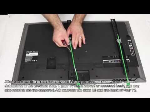 How To Hang A TV Wall Mount - Installing A Universal Wall Mount For Flat-Screen TVs Mp3