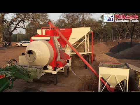 Semi Automatic Concrete Batching Plant