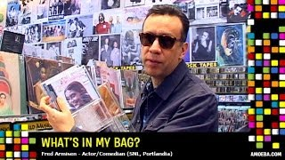 Fred Armisen - What's In My Bag?