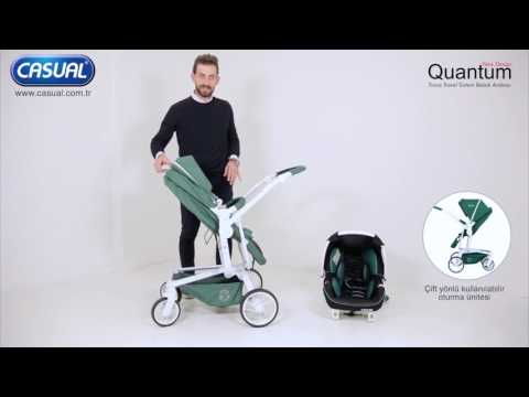 Casual Quantum Trona Travel Sistem Bebek Arabası Tanıtım Videosu