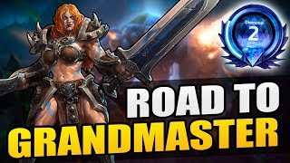 Sonya - still a beastly solo laner // TL Road to Grandmaster 2017 S2 // Heroes of the Storm
