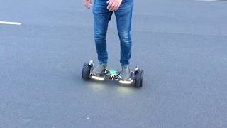Cool&Fun Hoverboard  279€ , 8,5 Zoll, 2 x 350 Watt , Offroad Reifen , App und Bluetooth
