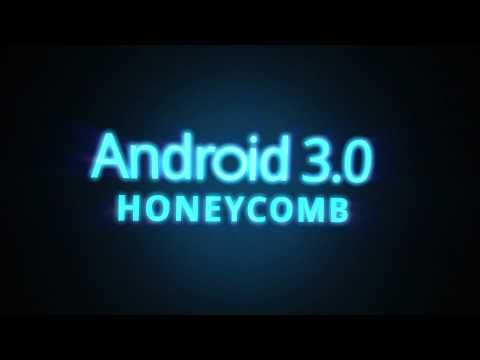 First Look At Android 3.0 Honeycomb, Or Android For Tablets