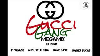 Lil Pump - Gucci Gang (Remix) ft. 21 Savage, Joyner Lucas, Dave East & August Alsina