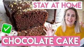 STAY AT HOME Gluten-free Chocolate Cake Recipe [AD] | Becky Excell