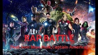 AVENGERS:Infinity War SONG (feat.Iron Man,Hulk,Captain America)