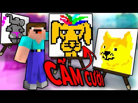 Minecraft Thử Thách CẤM CƯỜI!!   VOI MẶC BIKINI
