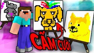 Minecraft Thử Thách CẤM CƯỜI!! | VOI MẶC BIKINI