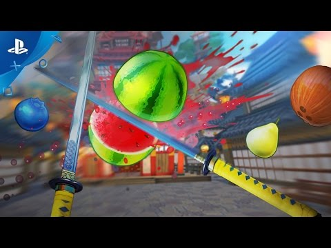 Fruit Ninja VR - Gameplay Trailer | PS VR thumbnail