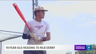 14-year-old heading to MLB Home Run Derby