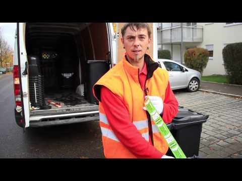 Neue Mülltonnen mit Chip-System für Ulm