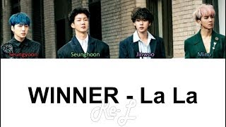 WINNER - LA LA (Color Coded Lyrics ENGLISH   - YouTube
