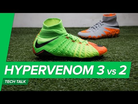 Kb Nike Hypervenom Phantom III DF Fg Grn/Orange