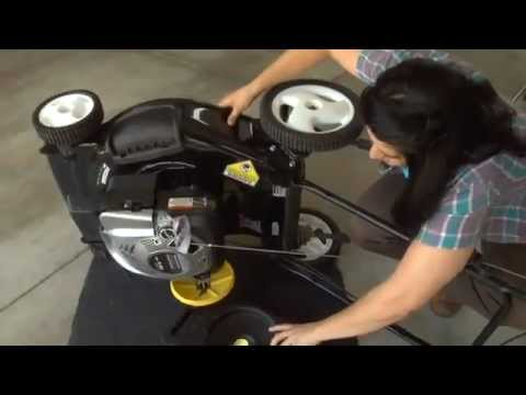 How to change your Briggs & Stratton's engine oil - Thủ