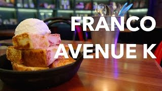 Two must-try desserts at Franco (Avenue K)