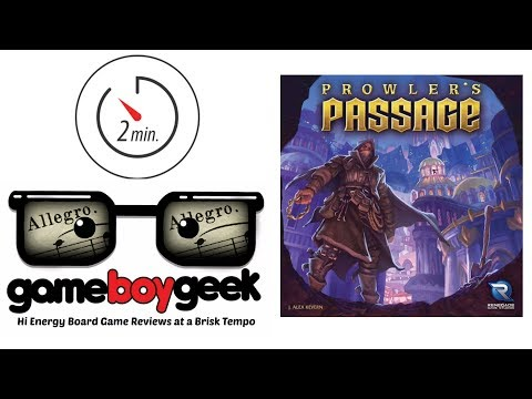 The Game Boy Geek's Allegro (2-min Review) of Prowler's Passage