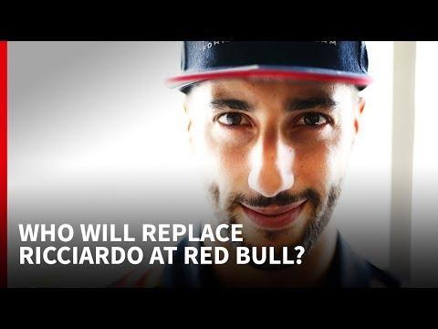 Who will replace Daniel Ricciardo at Red Bull?