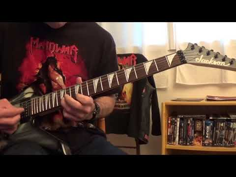 Manowar - Holy war (Guitar cover)