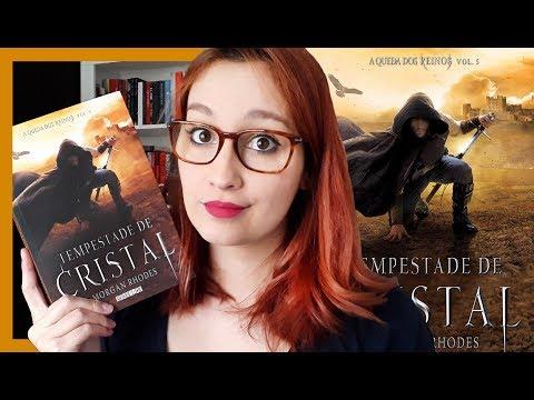 Tempestade de Cristal (Morgan Rhodes) | Resenhando Sonhos