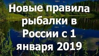 Правила рыбной ловли в россии по регионам