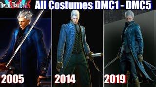 DMC Character Costumes 2001-2019 (DMC1 - DMC5) Devil May Cry 5