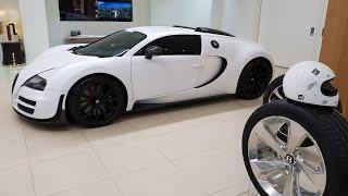 БУ Bugatti Veyron за 90 МЛН Рублей. Отделка дверей за 1,5 МЛН Рублей.