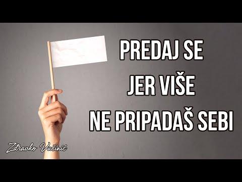 Zdravko Vučinić: Predaj se jer više ne pripadaš sebi
