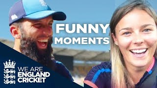 "🤣England Cricket's Funniest ""Off The Field"" Moments!"