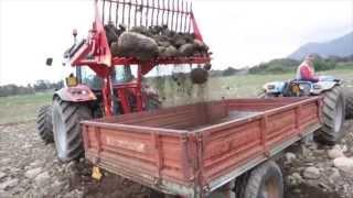 Benna raccoglisassi videos for Di raimondo macchine agricole