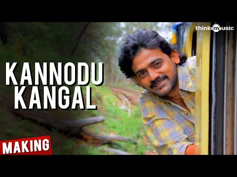 Kannodu Kangal Song Making Video - Moodar Koodam