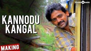 Kannodu Kangal Song Making Video - Moodar Koodam - Sentrayan, Oviya