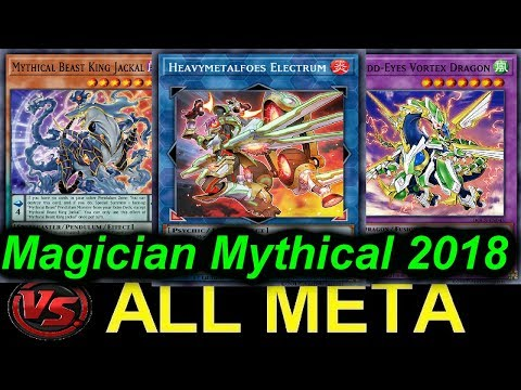 【YGOPRO】MAGICIAN MYTHICAL BEAST VS...ALL META DECKS 2018