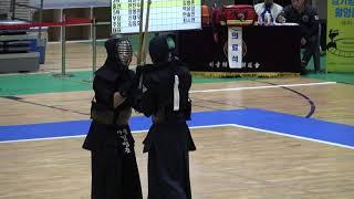 2019 전국체육대회 검도 남자고등부 준결승 - 서울 vs 경북 [검도V] KendoV