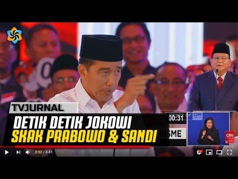 """Momen Saat JOKOWI Sindir Prabowo """" Jangan Grusa Grusu Seperti Kasus RATNA OPLAS """""""