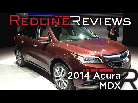 2014 Acura MDX - 2013 New York International Auto Show